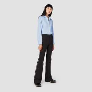 Derek Lam 10 Crosby Tuxedo Piping Pants Size 6